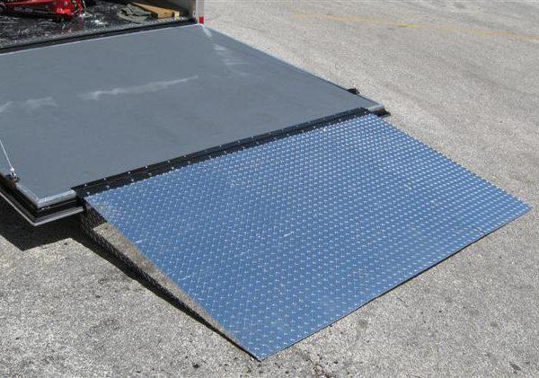 Enclosed Trailer Door Ramp Plattinum Products
