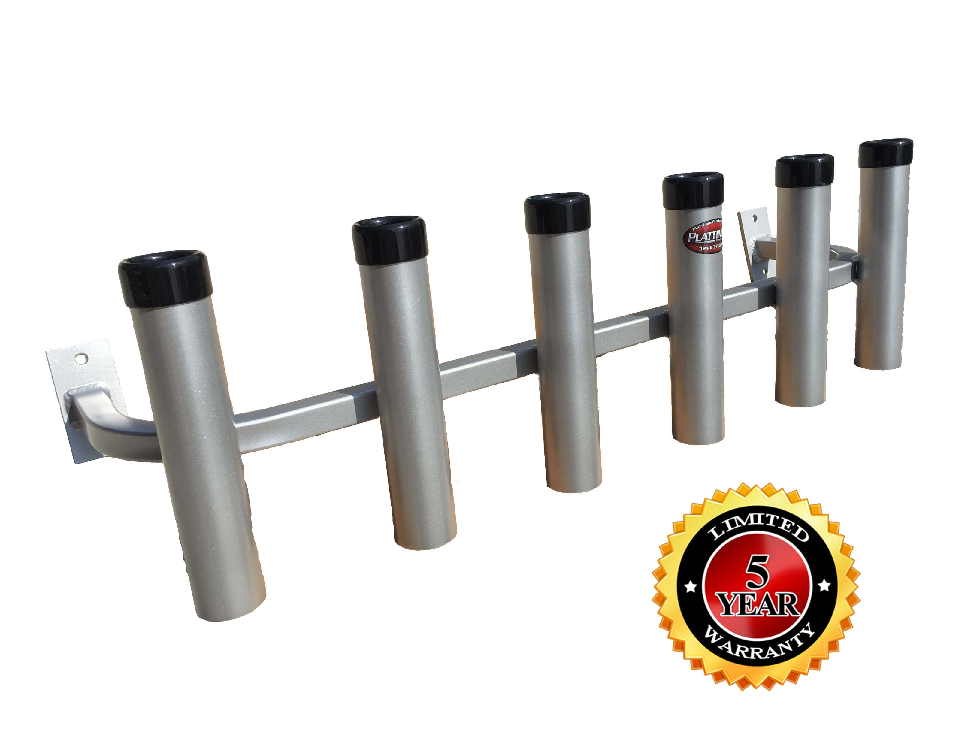 Truck Tool Box Bolt On Rod Holder – 6 Rod Holder-Powder ...