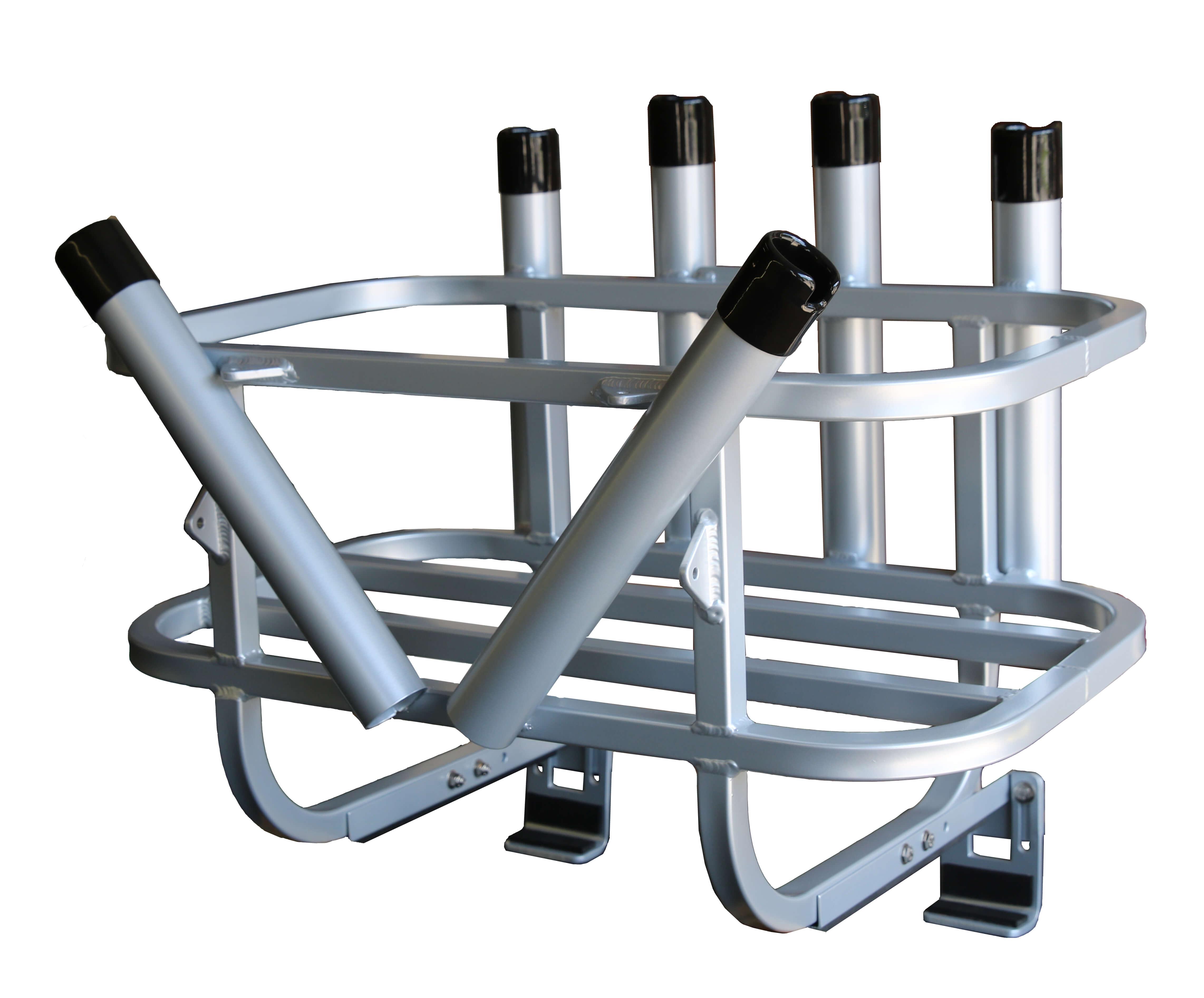 Jet ski rod rack cooler holder ski leg design plattinum for Jetski fishing rack