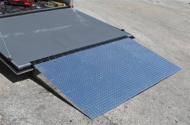 Enclosed Trailer Door Ramp – Plattinum Products