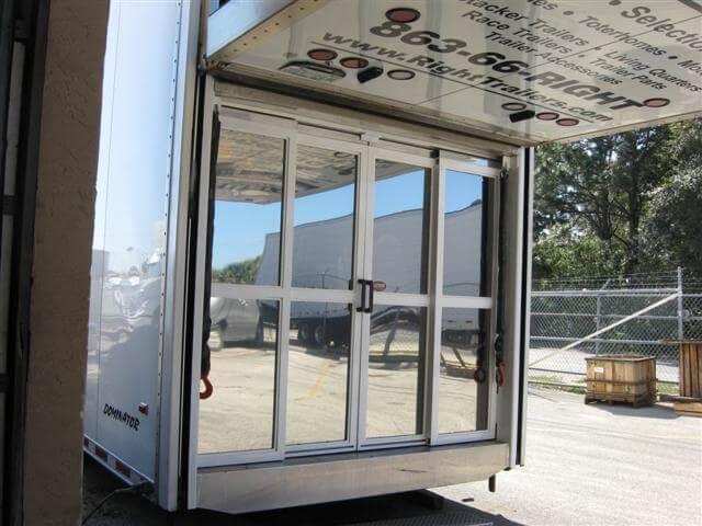 Sliding Rear Doors for Stacker Trailer & Sliding Rear Doors for Stacker Trailer \u2013 Plattinum Products