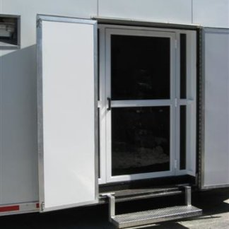 Sliding Rear Doors For Stacker Trailer Plattinum Products